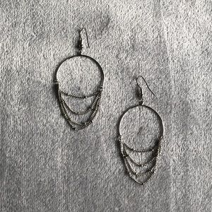 Jewelry - Silver chandelier earrings